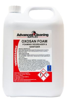 FOAMING DEGREASER & SANITIZER