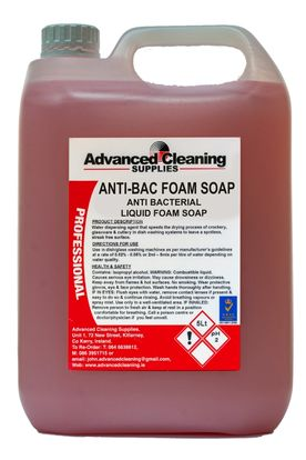 ANTI-BACTERIAL LIQUID FOAM SOAP